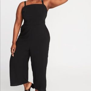 Old Navy Square-Neck Plus Cami Jumpsuit 2X NWT